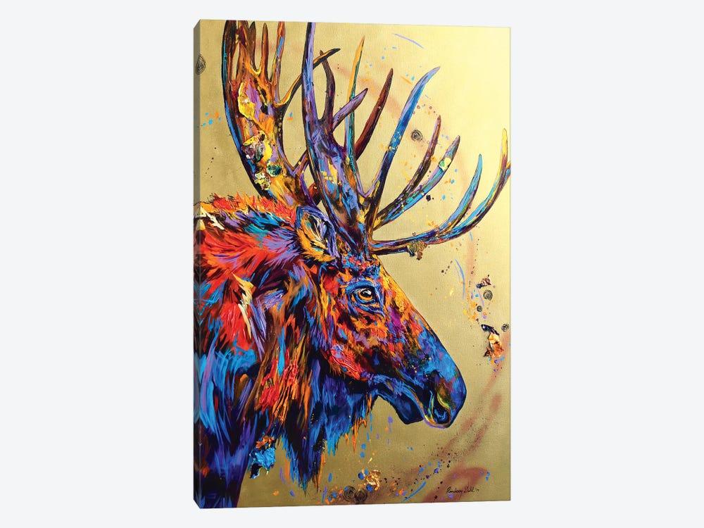 Velvet No Mo by Lindsey Dahl 1-piece Canvas Wall Art