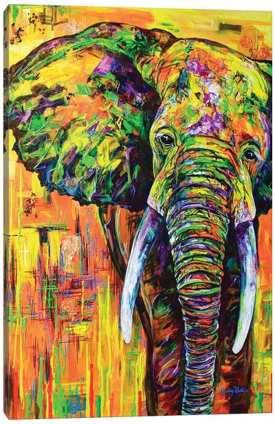 Yellowfant Canvas Art Print