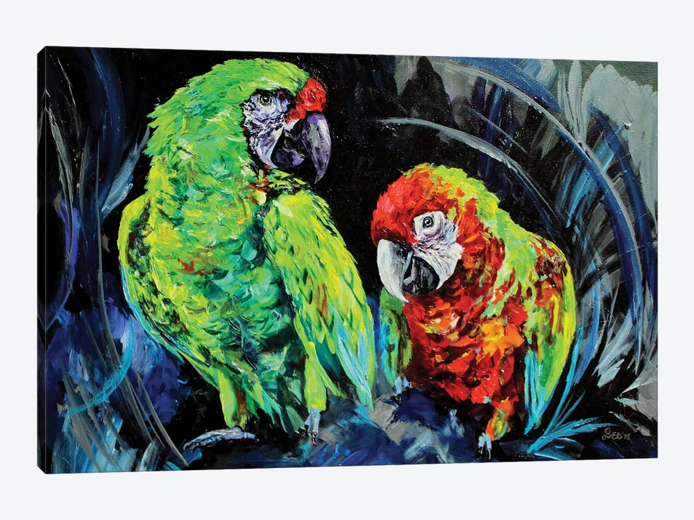 Caws by Lindsey Dahl 1-piece Art Print