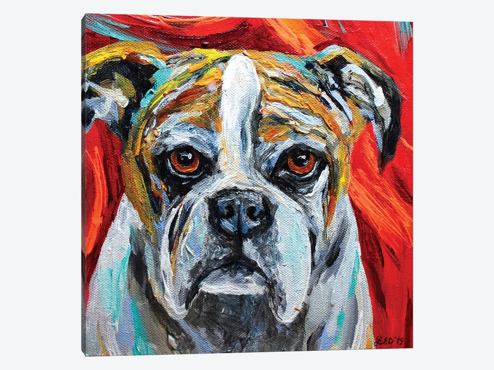 Winston by Lindsey Dahl 1-piece Canvas Wall Art