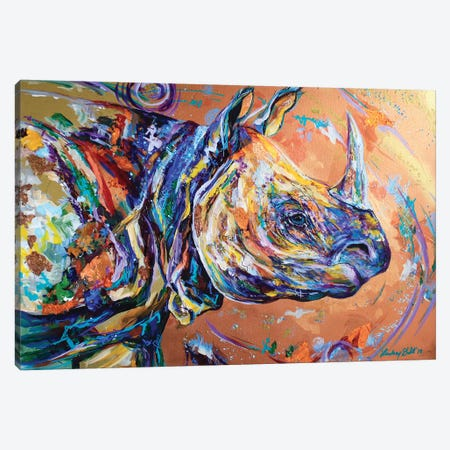 A Wrinkle In Time Canvas Print #DAL145} by Lindsey Dahl Canvas Art Print