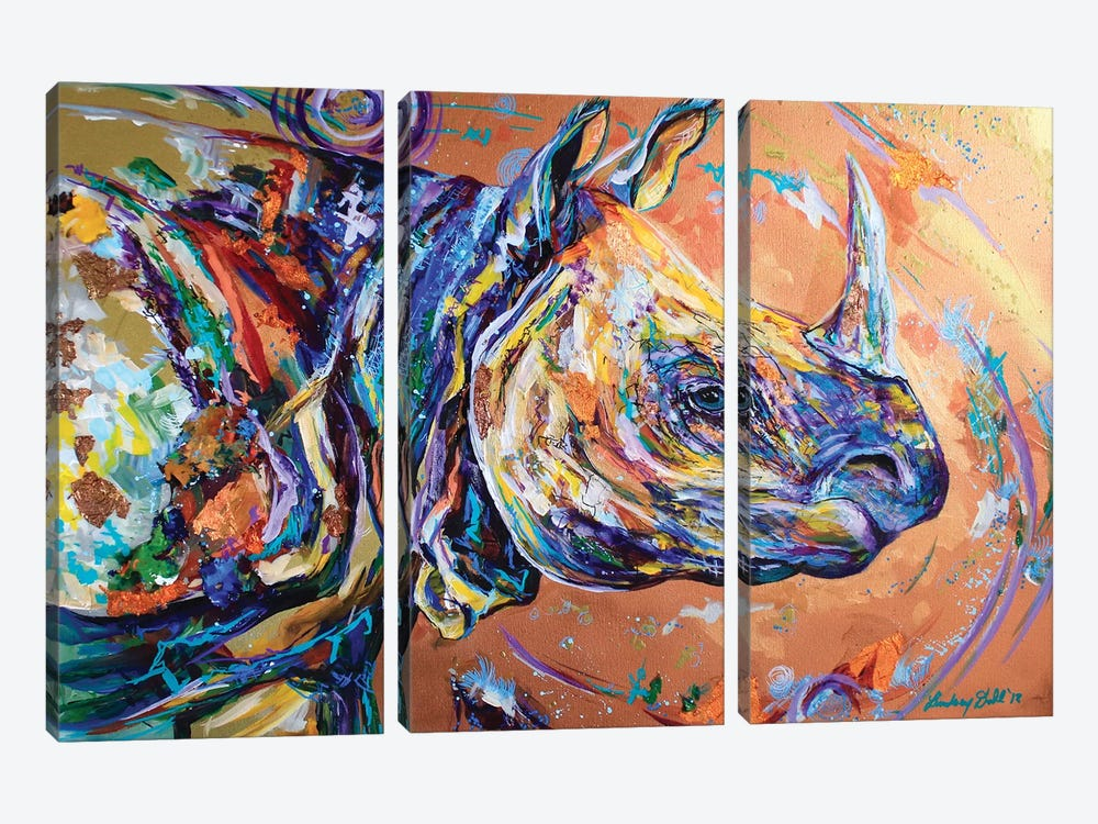 A Wrinkle In Time by Lindsey Dahl 3-piece Canvas Artwork
