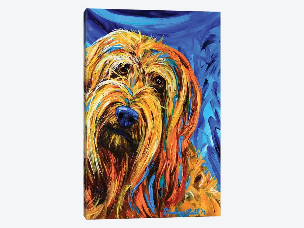 Chewy by Lindsey Dahl 1-piece Canvas Artwork
