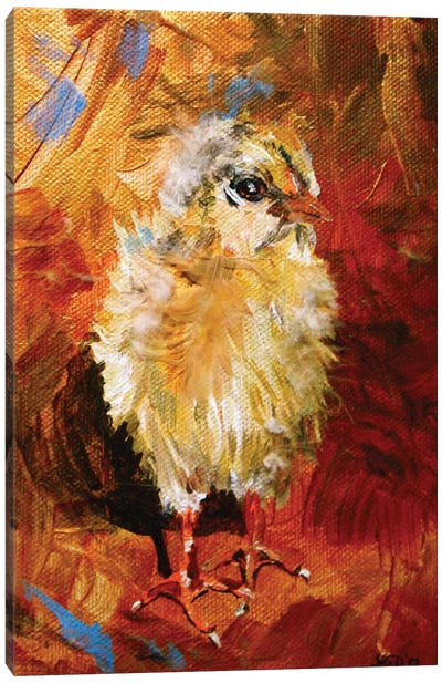 Chick Canvas Art Print