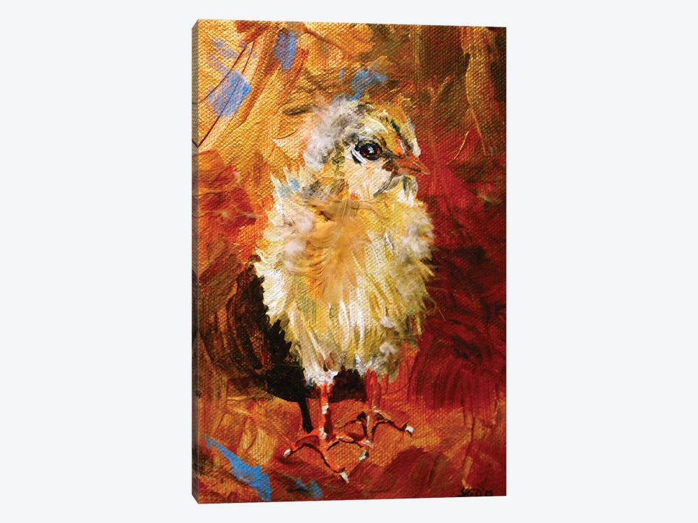 Chick by Lindsey Dahl 1-piece Canvas Art