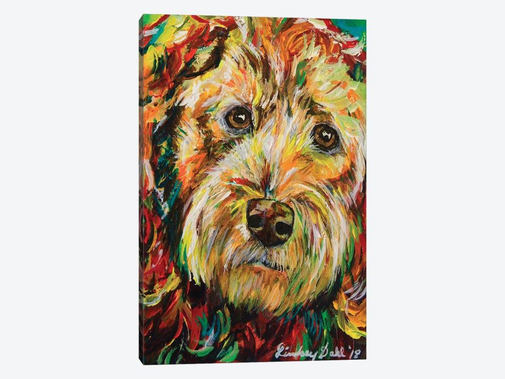 Goldendoodle by Lindsey Dahl 1-piece Canvas Artwork