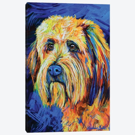 Labradoodle Canvas Print #DAL155} by Lindsey Dahl Canvas Artwork