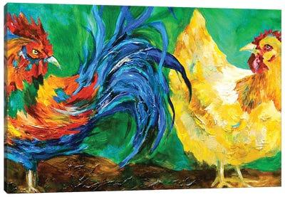 Chickens Canvas Art Print