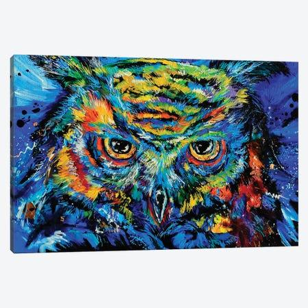 Night Watchman Canvas Print #DAL168} by Lindsey Dahl Canvas Wall Art