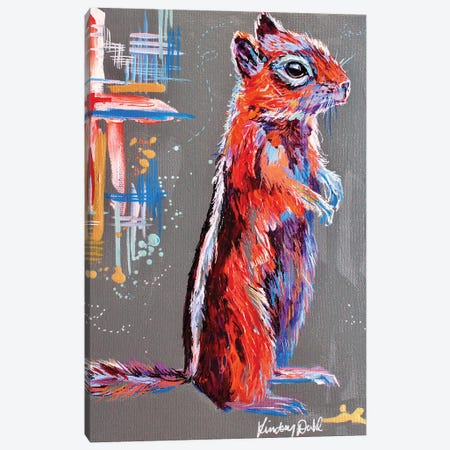 Chippy Canvas Print #DAL198} by Lindsey Dahl Canvas Print
