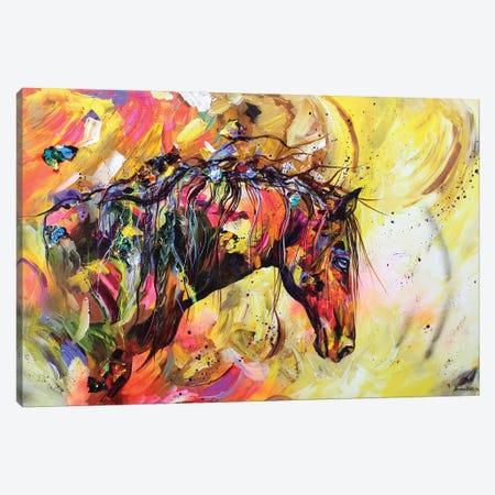 A Kind Eye Canvas Print #DAL1} by Lindsey Dahl Canvas Print
