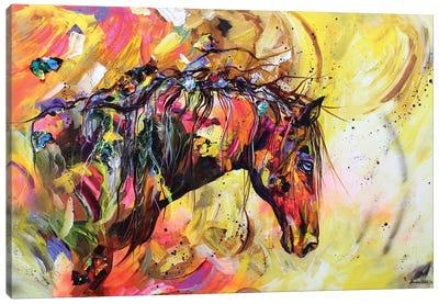 A Kind Eye Canvas Art Print