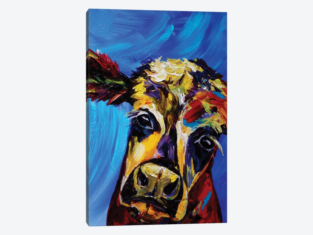Cow I by Lindsey Dahl 1-piece Art Print