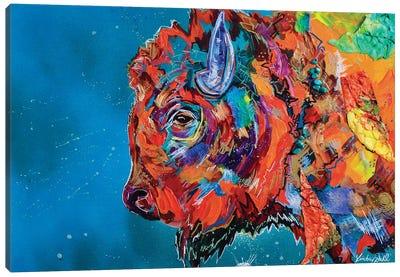 Staredown II Canvas Art Print
