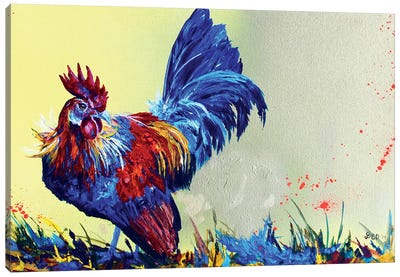 Dutch Bantam Canvas Art Print