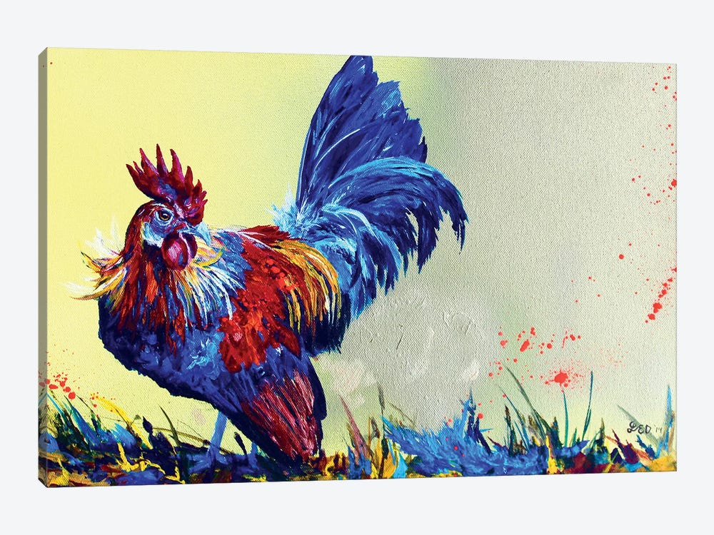 Dutch Bantam by Lindsey Dahl 1-piece Art Print