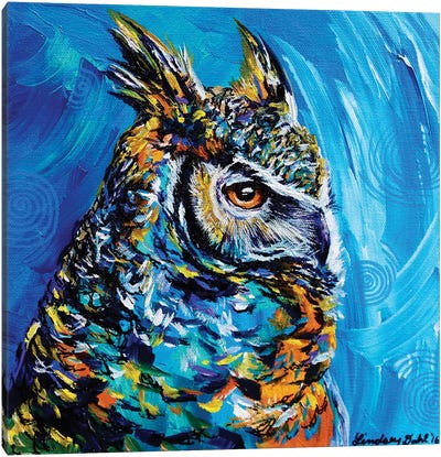 Eagle Owl Canvas Art Print