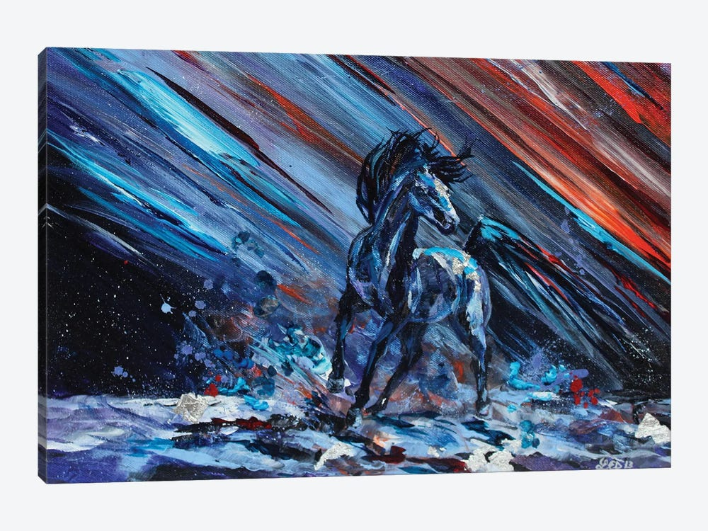Edge Of Saturn by Lindsey Dahl 1-piece Art Print