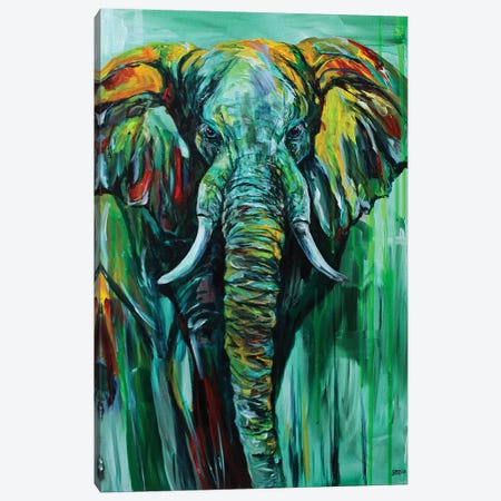 Emerald King Canvas Print #DAL27} by Lindsey Dahl Art Print