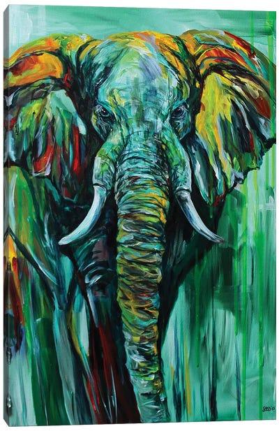 Emerald King Canvas Art Print