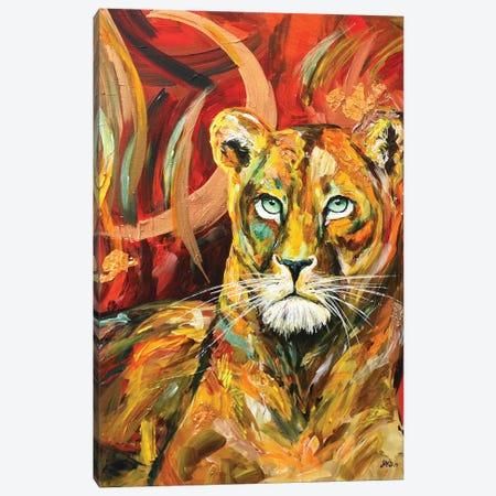Emerald Princess Canvas Print #DAL28} by Lindsey Dahl Canvas Wall Art