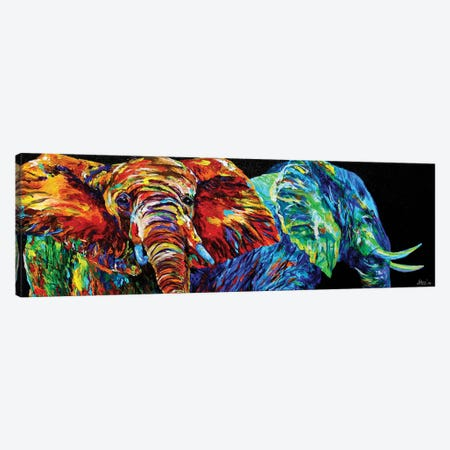 Fire And Rain 3-Piece Canvas #DAL29} by Lindsey Dahl Canvas Wall Art