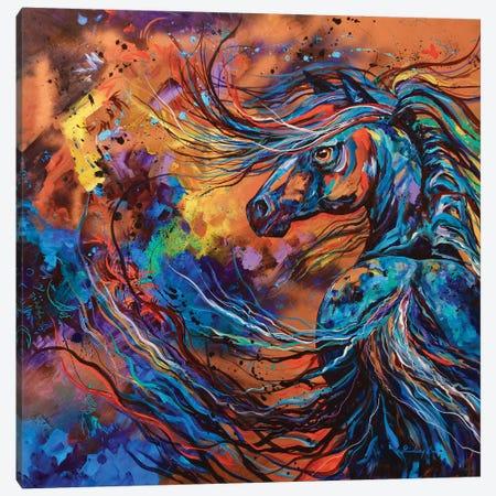 Furry's Hindsight Canvas Print #DAL32} by Lindsey Dahl Art Print