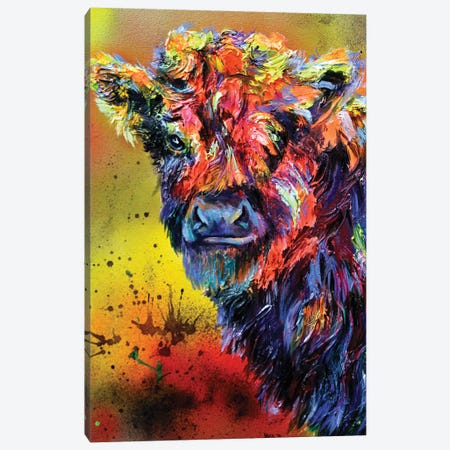 Fuzzy Wuzzy Canvas Print #DAL33} by Lindsey Dahl Canvas Art Print