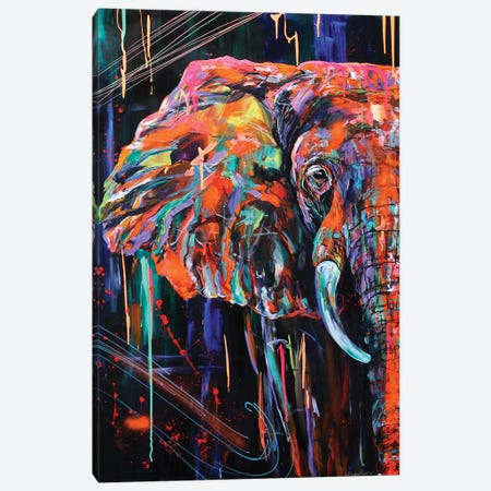 Gentle Giant Canvas Print #DAL34} by Lindsey Dahl Canvas Art