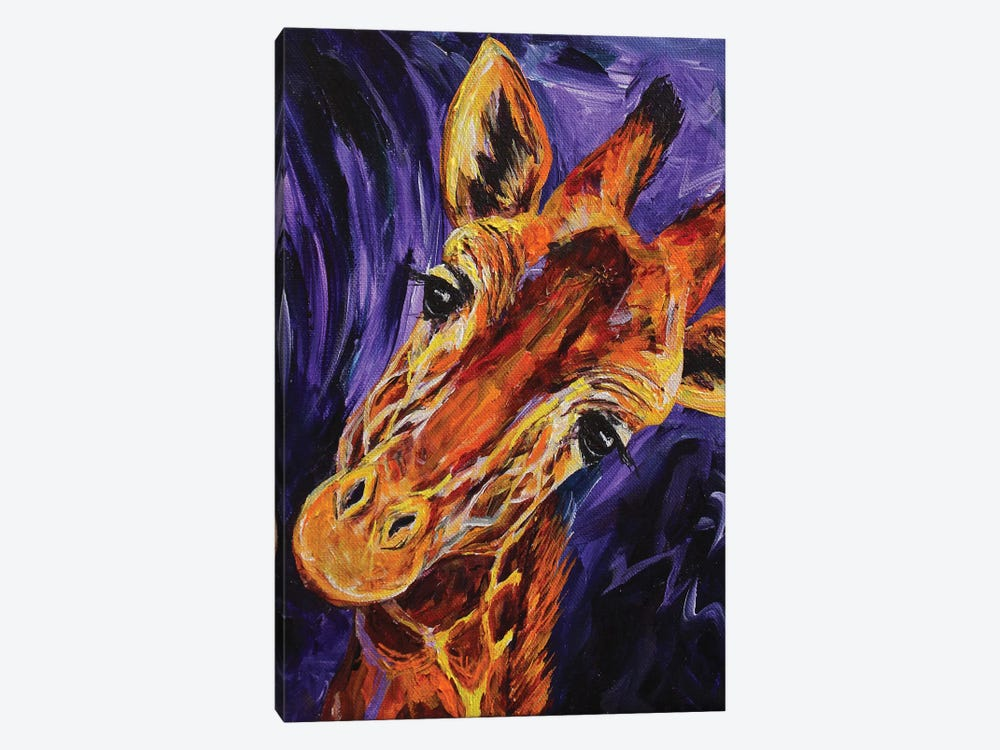 Giraffe by Lindsey Dahl 1-piece Canvas Art Print