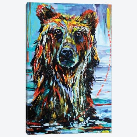 Go Fish Canvas Print #DAL36} by Lindsey Dahl Canvas Wall Art