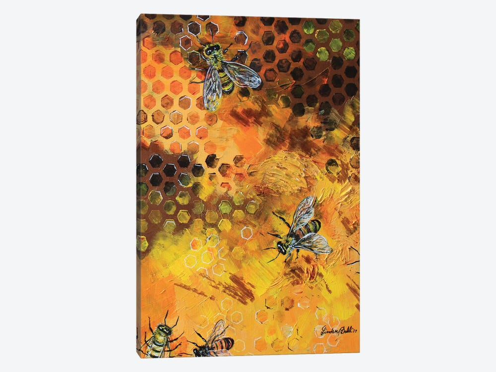 Hive Life by Lindsey Dahl 1-piece Canvas Art Print