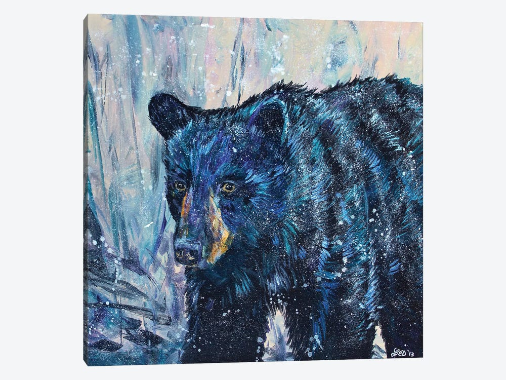 Icy Bear by Lindsey Dahl 1-piece Art Print