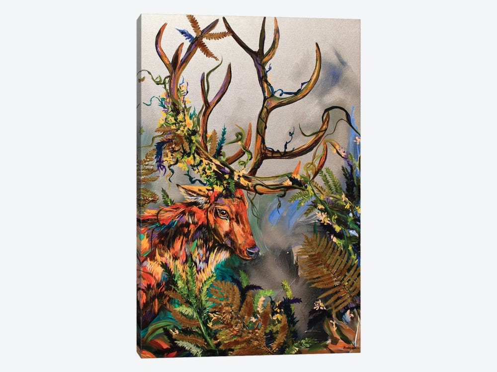 In The Weeds I by Lindsey Dahl 1-piece Canvas Wall Art