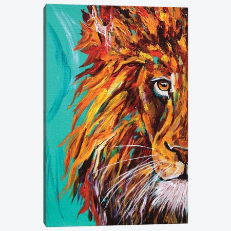 Lion I Canvas Print #DAL58} by Lindsey Dahl Canvas Print