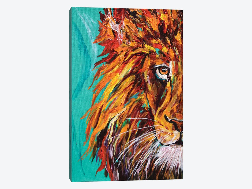 Lion I by Lindsey Dahl 1-piece Canvas Artwork