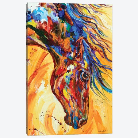 Mane Attraction Canvas Print #DAL61} by Lindsey Dahl Canvas Artwork