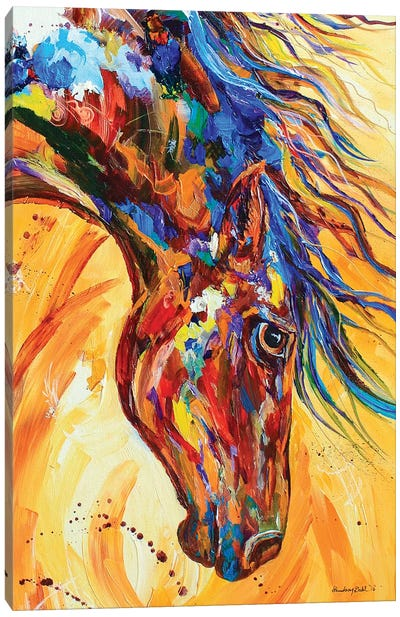 Mane Attraction Canvas Art Print