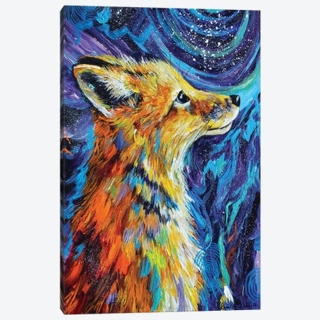 Night Watcher Canvas Print #DAL68} by Lindsey Dahl Canvas Art