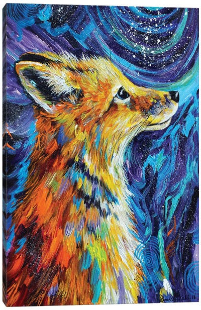 Night Watcher Canvas Art Print