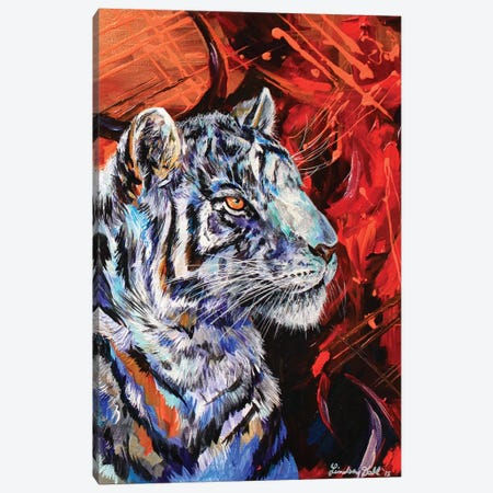 Rajah Canvas Print #DAL83} by Lindsey Dahl Canvas Artwork