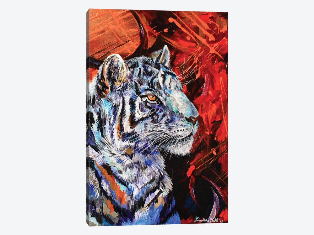 Rajah by Lindsey Dahl 1-piece Canvas Artwork