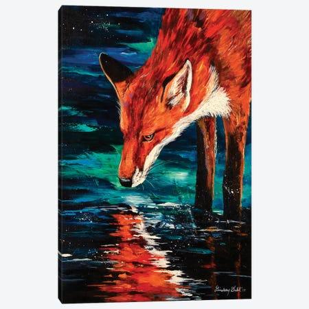 Reflection Canvas Print #DAL85} by Lindsey Dahl Canvas Art Print
