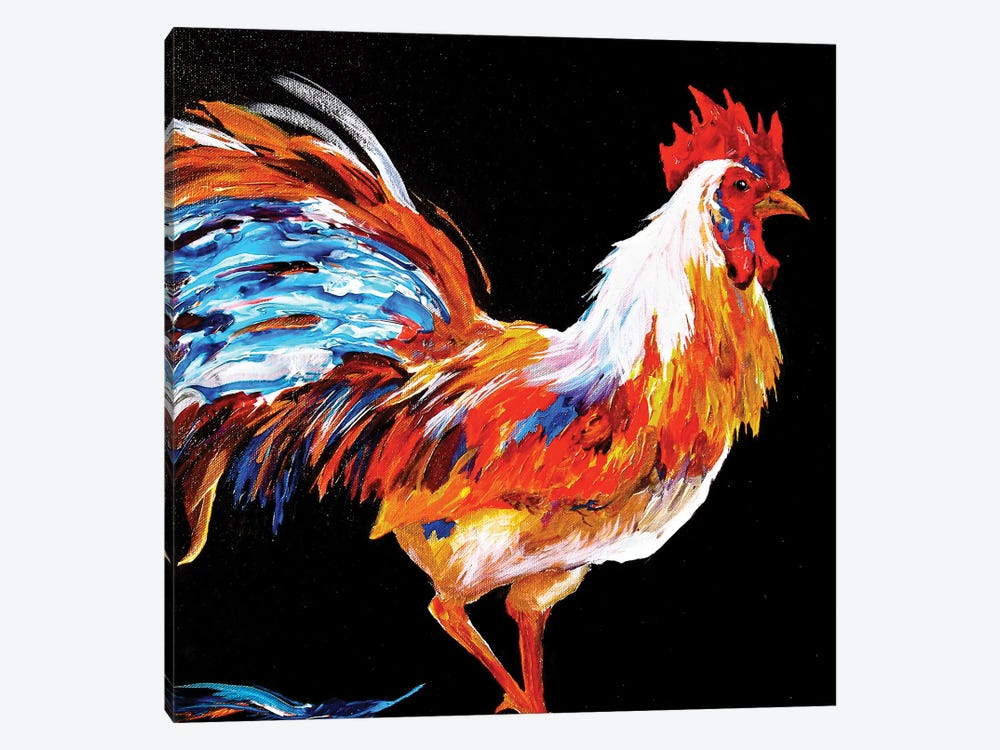 Rooster by Lindsey Dahl 1-piece Art Print