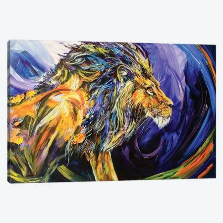 Scar Canvas Print #DAL91} by Lindsey Dahl Canvas Art Print