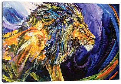 Scar Canvas Art Print