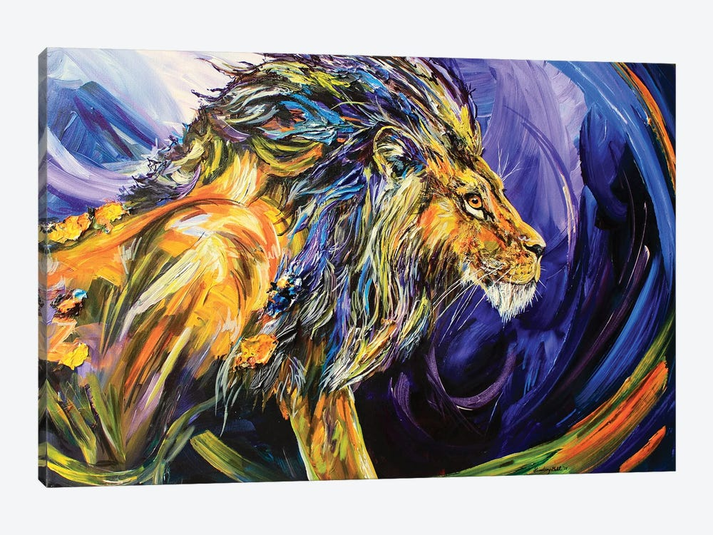Scar by Lindsey Dahl 1-piece Canvas Print