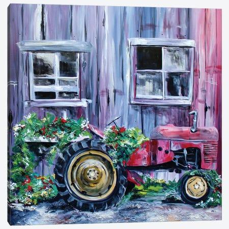 Spring Crop Canvas Print #DAL97} by Lindsey Dahl Canvas Artwork