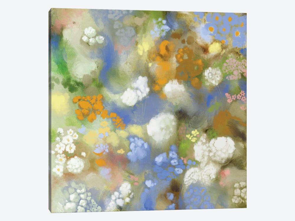 Flower Impression II by Dan Meneely 1-piece Canvas Art