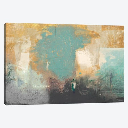 Golden Peak Canvas Print #DAM109} by Dan Meneely Art Print